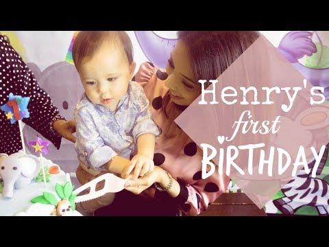 HENRY'S FIRST BIRTHDAY | VLOG | MELODY MANNING