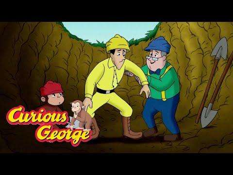 Digging Deep 🐵 Curious George 🐵Kids Cartoon 🐵 Kids Movies 🐵Videos for Kids
