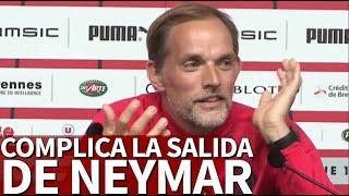 Tüchel Condiciona La Salida De Neymar  Diario As