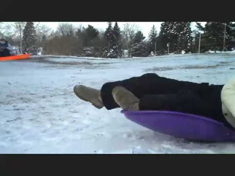 Sledding Down the Hill of Justice.