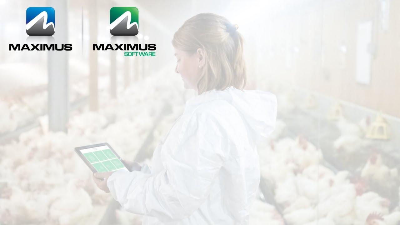 MAXIMUS Software - Mobile App - Poultry