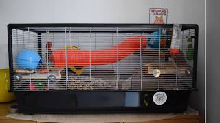 Silver Savic Hamster Plaza Hamster Cage