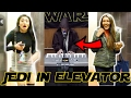 JEDI PLAYS PIANO IN ELEVATOR - STAR WARS PRANK (Public Reactions)