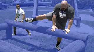 NAVY SEAL OBSTACLE COURSE CHALLENGE Pt.2 | NAVY SEAL VS 4X WORLD'S STRONGEST MAN