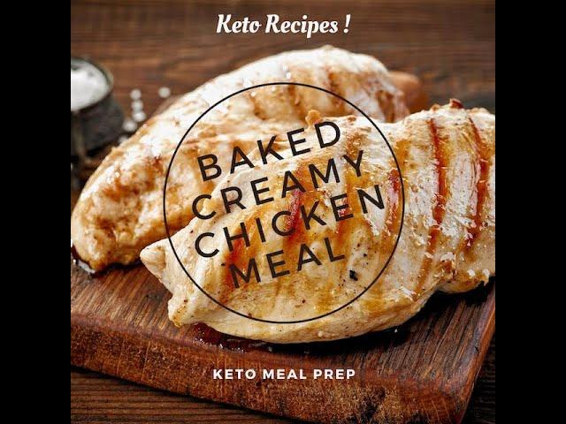 Keto Comfort Meal | Keto Creamy Chicken | Keto Meal Plan