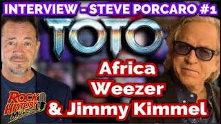 INTERVIEW Toto's Steve Porcaro Talks Africa, Weezer & Being On Jimmy Kimmel