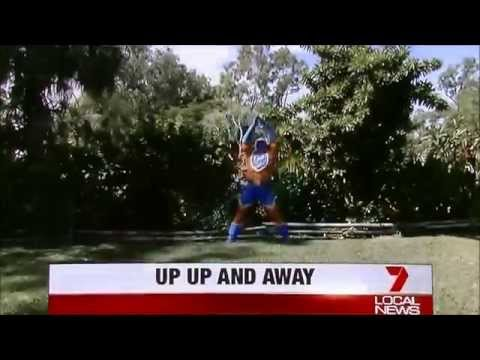 Captain Active on Channel 7 Local News
