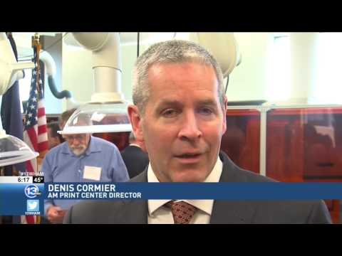 RIT on TV: RIT and N.Y. State open AMPrint Center