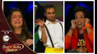 FUNNIEST Auditions & Characters on Dance India Dance Season 4