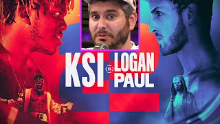 Ethan Klein On Logan Paul vs KSI Round 2