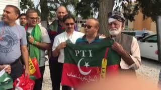 PTI win Vancouver celebrations 2018.