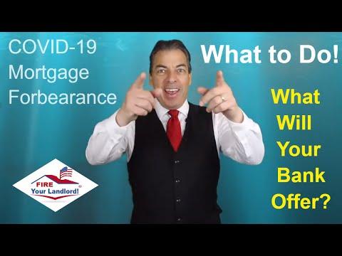 COVID-19 [Mortgage Forbearance] Real Estate Loans [Home loan] Forbearance Meaning