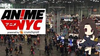 NYC's BIGGEST Anime Con?? | AnimeNYC 2017 Recap