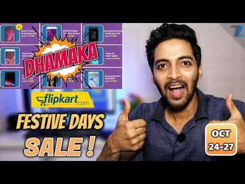 Flipkart Festive DHAMAKA Days Sale | Best Smartphones & Products To Buy !