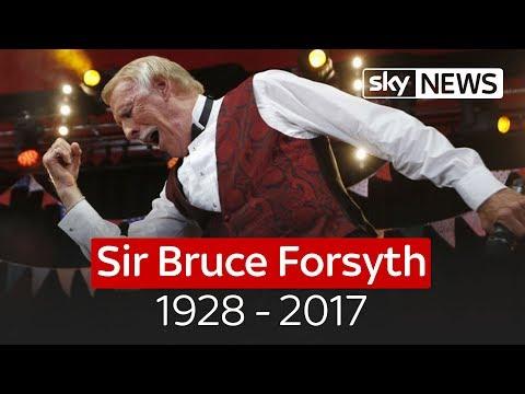 Veteran TV host Sir Bruce Forsyth dies at 89