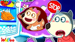 Wolfoo Takes Care of Mommy and Baby - Kids Stories About Wolfoo Family | Wolfoo Family Kids Cartoon