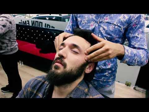 ASMR Turkish Barber Face,Head and Body Massage (22 Mins)