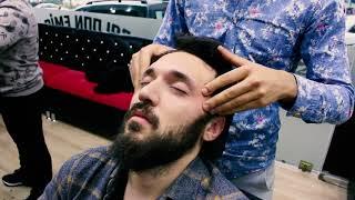 ASMR Turkish Barber Face,Head and Body Massage 78 (22 Mins)