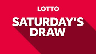 The National Lottery 'Lotto' draw results from Saturday 15th May 2021