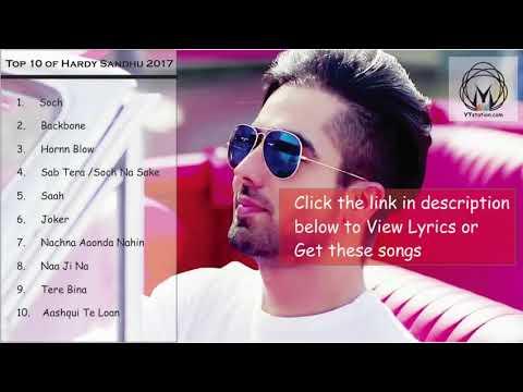 Hardy Sandhu all songs/juke box