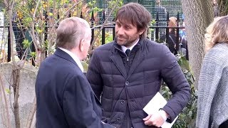 Sporting Stars Attend The Funeral Of Ray Wilkins