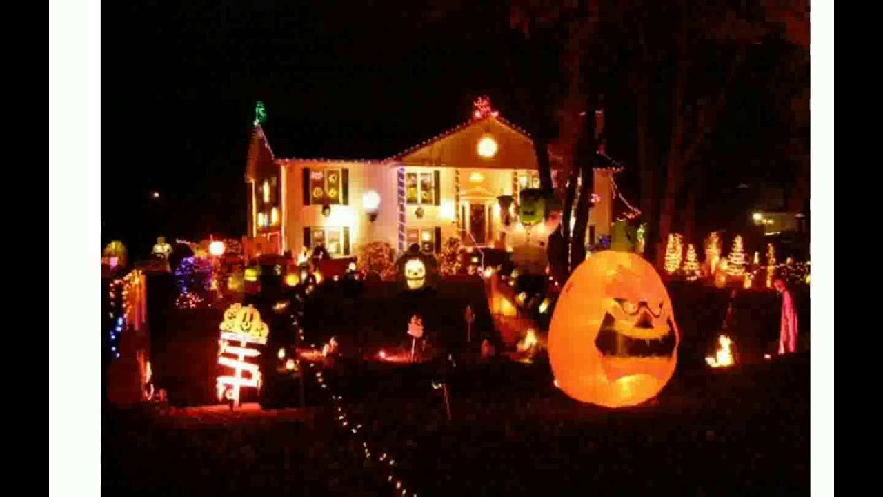 best outdoor halloween decorations youtube - Images Of Halloween Decorations