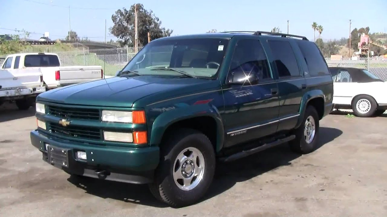 2000 Chevrolet Tahoe Z71 4X4 AWD SUV GMC YUKON Escalade FOR SALE