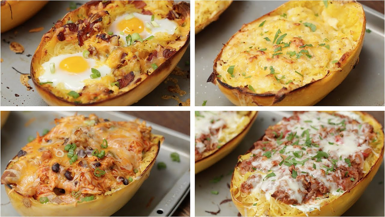 Spaghetti squash 4 ways youtube forumfinder Image collections