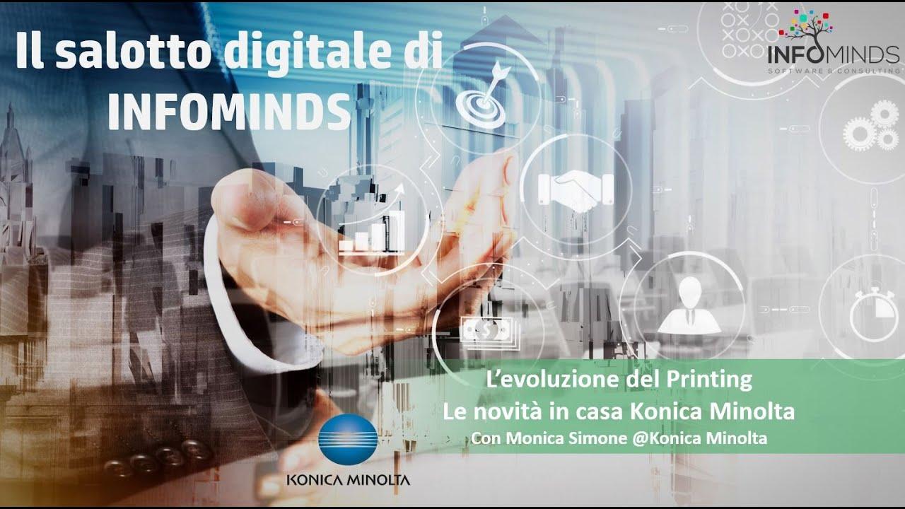 Webinar: L'evoluzione del printing, le novità in casa Konica Minolta