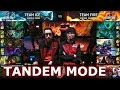 Faker + Bjergsen! Team Ice vs Team Fire Tandem mode | LoL All-Star Event 2016 Day 4