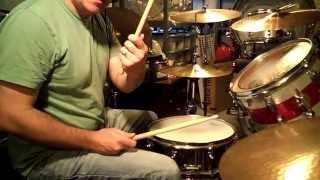 ACHILLES LAST STAND Drum Lesson  Led Zeppelin BONZOLEUM
