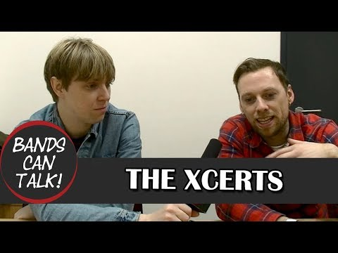 The Xcerts On Recording 'Hold On To Your Heart' I Interview I Bands Can Talk!