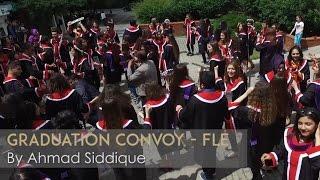 odt fle graduation convoy 2016 havadan ekimi   ahmad siddique