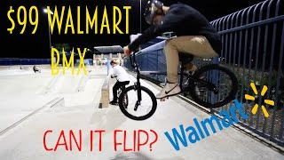 THE $99 WALMART BMX! (WE DID IT AGAIN)