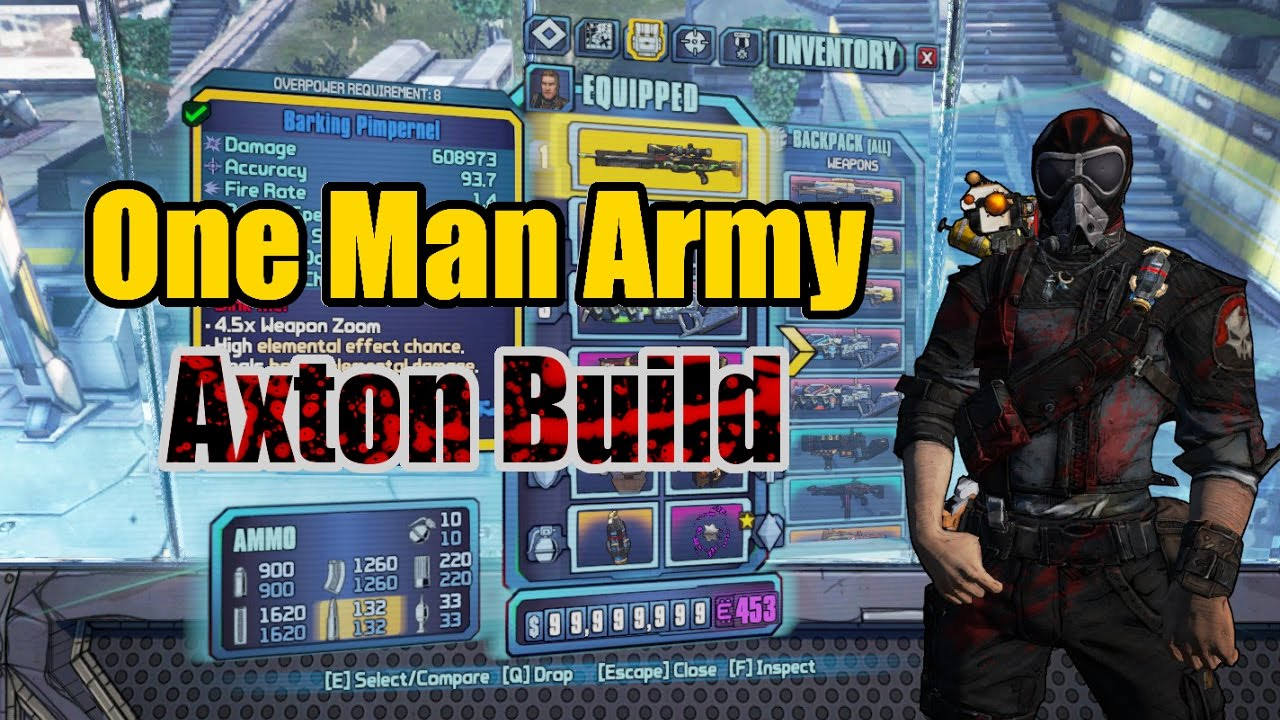 Borderlands 2: One Man Army - Build Showcase (w/ Download)