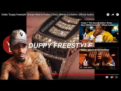 "Drake ""Duppy Freestyle"" (Kanye West & Pusha T Diss) 