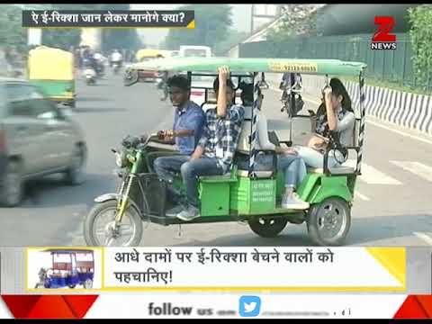DNA: When will E-rickshaw drivers start following traffic rules?