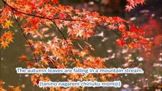 Japanese Folk Song #27: Autumn Leaves(紅葉 [もみじ] / Momiji)