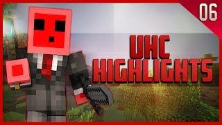 Minecraft: UHC Highlights: Episode 6! - 14 Kills!