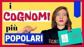 Quali sono i Cognomi più diffusi in Italia Ecco la Classifica Ufficiale e la loro ORIGINE 🤓