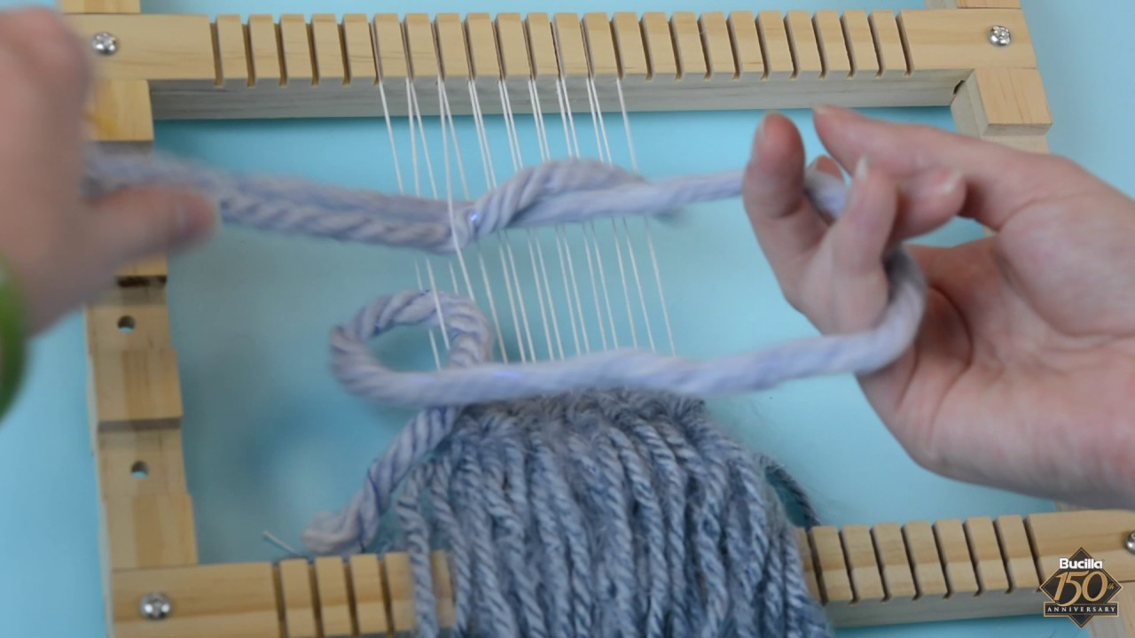 Bucilla Weaving Loom Fiber Art Youtube