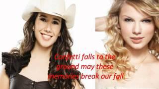 [COM LETRA] Taylor Swift, Paula Fernandes - Long Live