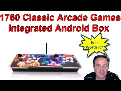 1760 Classic Arcade (Retro) Games And Android Box For Streaming 4K