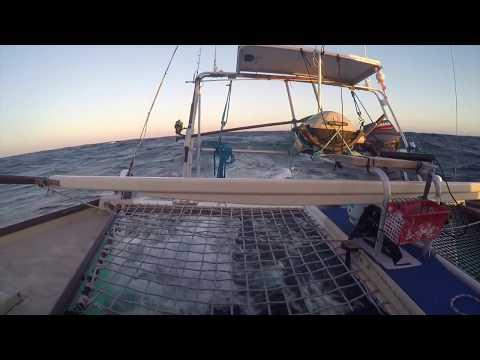 17 Knots up the Zuytdorp cliffs- Sailing Aqua Tangaroa