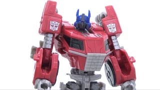 Video Review of the Transformers Fall of Cybertron: Optimus Prime