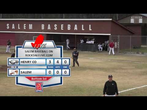 Salem Baseball vs. Henry County