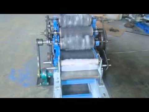 Mini Wool Carding Machine-Lab Use