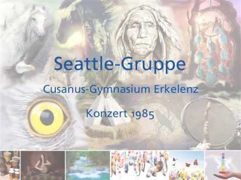 Konzert Chor Musik Schulchor Seattle-Gruppe Cusanus-Gymnasium Erkelenz 1985