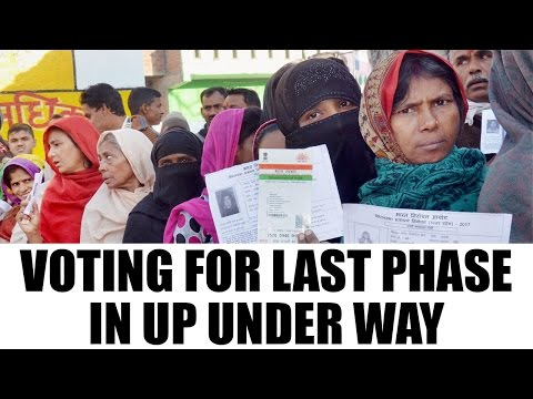 UP Elections 2017: polling for final phase underway | Oneindia News
