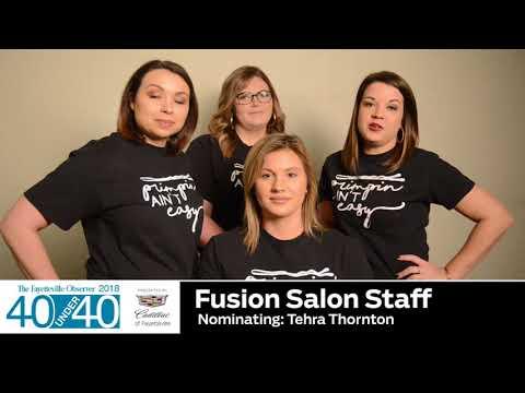 Fusion Salon Staff Nominating Tehra Thorton
